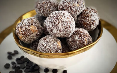 Nutty Mint Energy Balls
